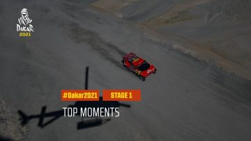 #DAKAR2021 – Stage 1 – Top Moments