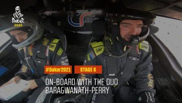 #DAKAR2021 – Stage 6 – On-board with the duo Baragwanath-Perry