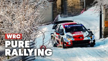 Epic Action From Rallye Monte-Carlo   WRC 2021