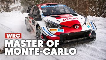 Sebastien Ogier Masters Snow and Ice to Win His 50th Rally   WRC 2021