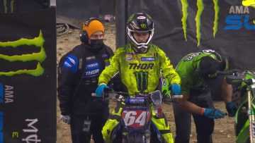 Supercross Round #4 250SX Highlights | Indianapolis, IN, Lucas Oil Stadium | Jan 30, 2021