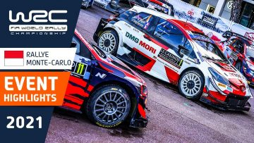 WRC – Rallye Monte-Carlo 2021: Event Highlights / Review
