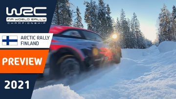 PREVIEW Clip – WRC Arctic Rally Finland 2021 Powered by CapitalBox