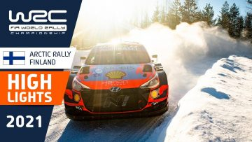 Event Highlights Clip – REVIEW – WRC Arctic Rally Finland 2021
