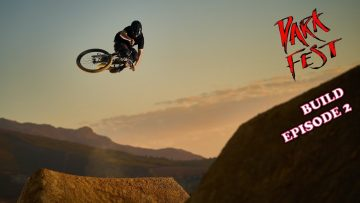 DARKFEST 2021 – Building the Course and Hellsend Dirt Jump Session!