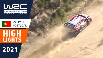 Highlights Stages 12-14 : Vodafone Rally de Portugal 2021