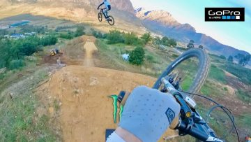 First Hits on the World's CRAZIEST FREERIDE MTB JUMPS! – Darkfest 2021 GoPro Raw