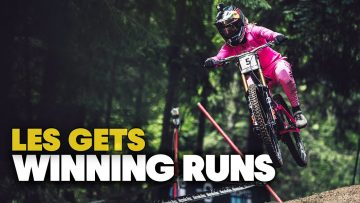 The Wettest Winning Runs of 2021 | UCI Downhill MTB World Cup Les Gets