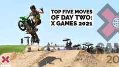 TOP 5 MOTO MOVES OF DAY 2 COUNTDOWN   X Games 2021