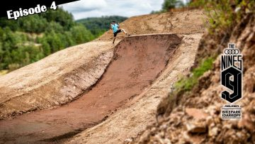 AUDI NINES MTB 2021 – Building a HUGE New Step Up and Quarter Pipe in the Quarry! Episode 4