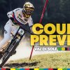 Downhill Course Preview w/ Reece Wilson in Val Di Sole   UCI MTB World Championships 2021