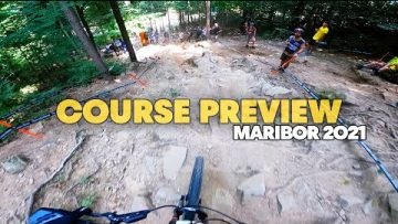 Maribor Course Preview w/ Reece Wilson | UCI Downhill MTB World Cup 2021