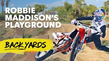 Turning A Front Lawn Into An FMX Track | Robbie Maddison's Red Bull Backyards Ep.12