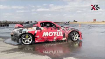 Watch 14 year old learn to drift. 👌