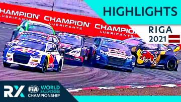 World RX+ Live Highlights : Ferratum World RX of Riga 2021 : Day 2 Semi Finals and Final from Latvia