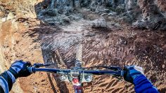 Course Preview of Carson Storch's Gnarly Line at Red Bull Rampage 2021