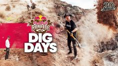 Digging the Wildest Lines in MTB @ Red Bull Rampage | Dig Days 2021
