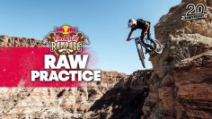 Nerve-racking First Sends at Red Bull Rampage 2021