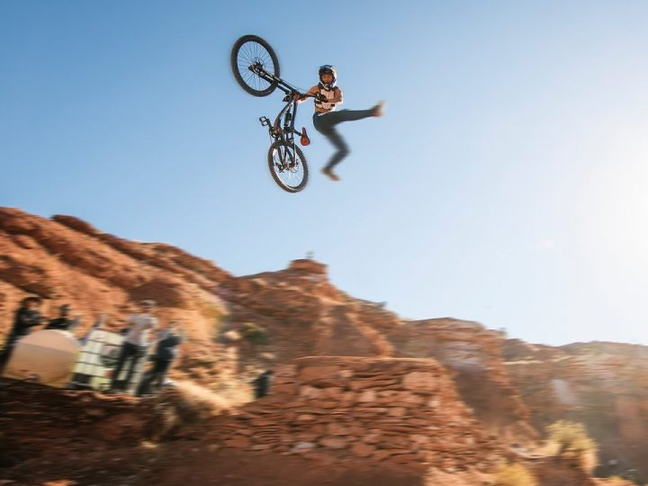 Red Bull Rampage But It's A Drone