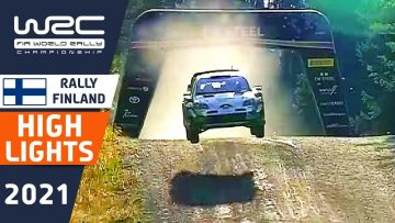 WRC Rally Highlights : Final Results of Secto Rally Finland 2021